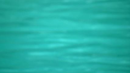 eau floue turquoise