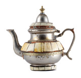 Moroccan teapot poster