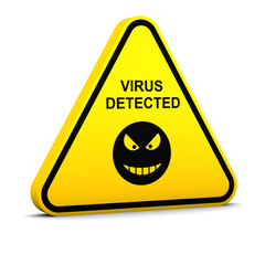 Warning: virus detected