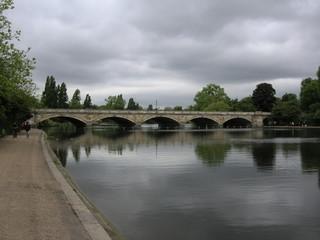 Serpentine Bridge Hyde Park, London