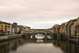 Ponte Vecchio at Florence, Italy poster