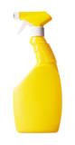 Detergent spray bottle poster