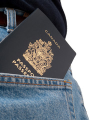 Back Pocket Series - Passport in pocket