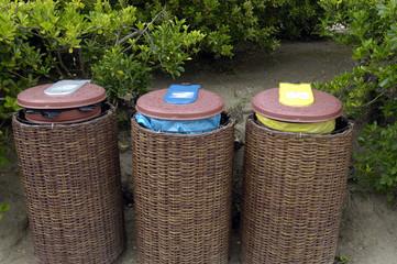 poubelles, tri sélectif