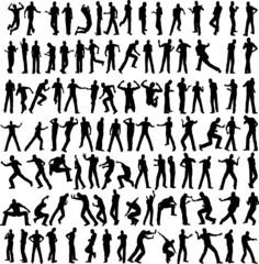 100 different men pose