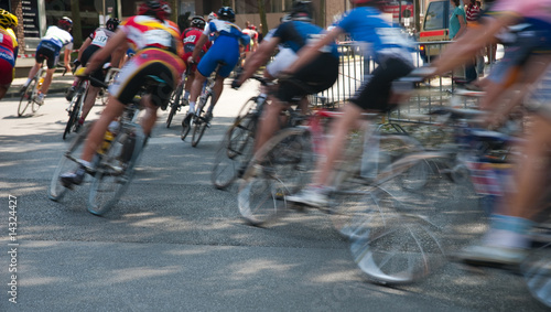 Fotobehang Wielersport Radrennen