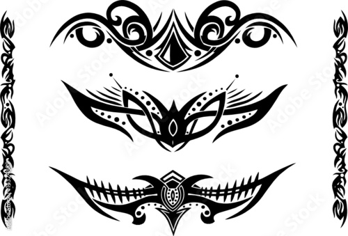 Tribal Flash on Tattoovorlage  Tribal  Tattoo Flash    Christine Krahl  14324859
