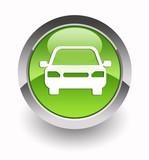 Fototapety Car glossy icon