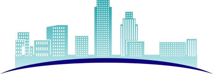 City - abstract illustration