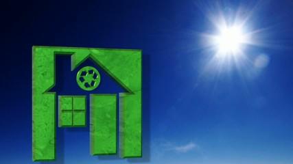 Maison à énergie positive.