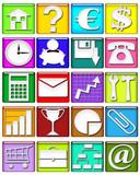 Icone Affari-Business Icons-Icones Affaires- Set 20 poster