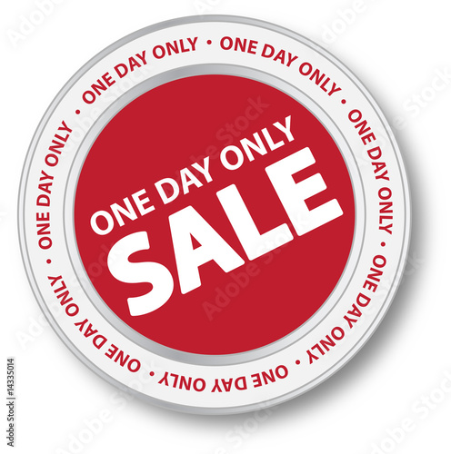 One Day Only Sale Button
