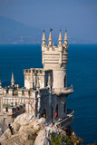 swallow nest castle in Crimea, Ukraine poster