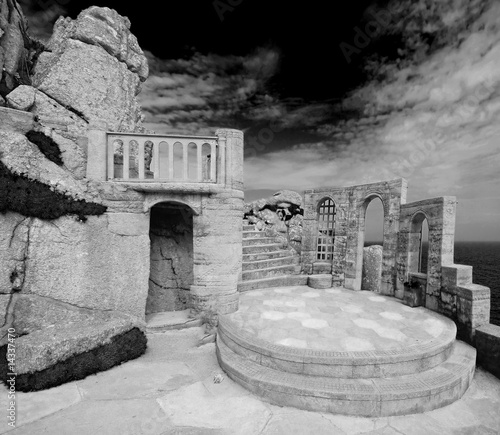 Minack theatre in Cornwall, England