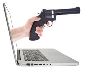 Virtual attack.