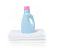 Fabric Softener Detergent Container poster