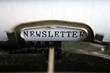 Newsletter Typewriter