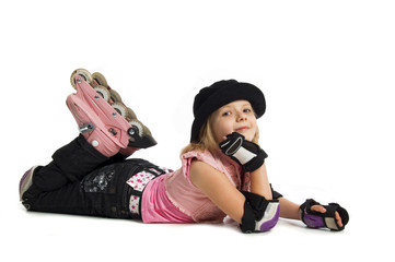 rollers girl