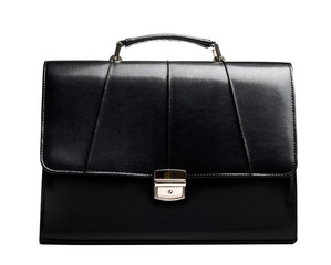 Business suitcase isolated