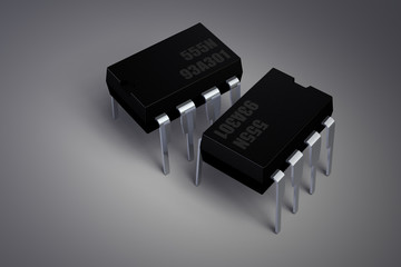 Integrated Circuit - 555 Timer