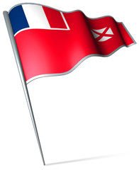 Flag pin - Wallis and Futuna (FRANCE)