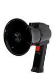 Small Black Megaphone on a white background