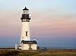 Leinwandbild Motiv lighthouse dawn