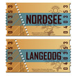 Ticket Nordsee/Langeoog