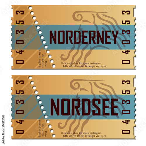 Ticket Nordsee/Norderney