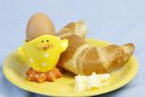 Frühstück mit Ei