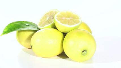 Lemons zoom in to blur - HD