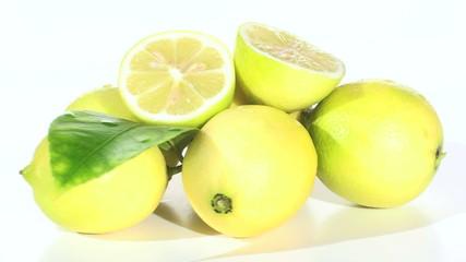 Lemons zoom in - HD