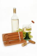Wein mit Aräometer