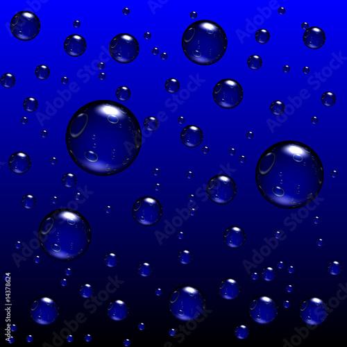 Poster Luftblasen I