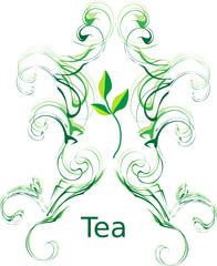 Tea. Vector illustration