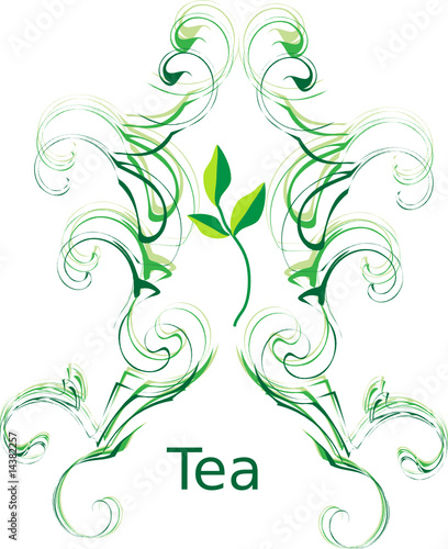 Tea. Vector illustration