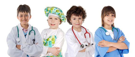 Four future workers