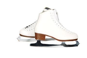 Professionals lady ice skates