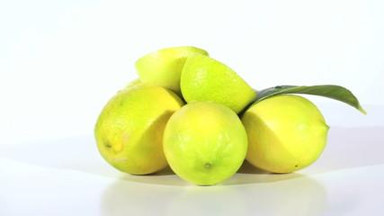 Pile of lemons seamless loop - HD