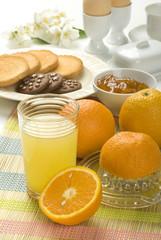 colazione con succo
