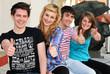 Jugendliche positiv gestimmt