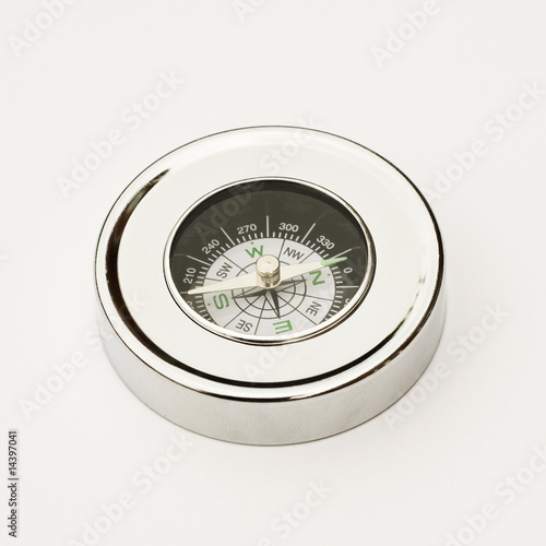 Chrome compass