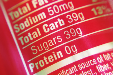 Soda Pop Sugar Content