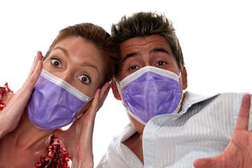 Influenza masks