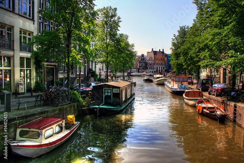Foto op Aluminium Amsterdam Amsterdam - Niederlande / Holland