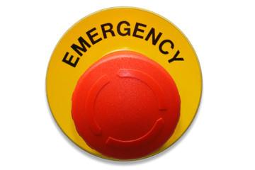 pulsante rosso di emergenza