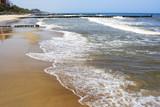 Beautiful beach in Baltic Sea poster