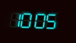 accelerated digital clock