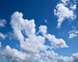 Wolken ziehen auf die Kamera zu, Zeitraffer