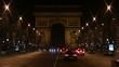 Arch de Trionfe at night. Paris.
